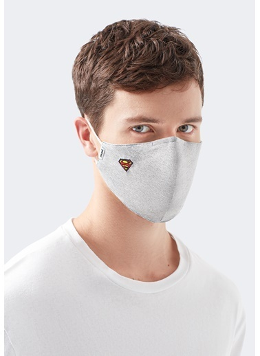 Mavi Maske Gri